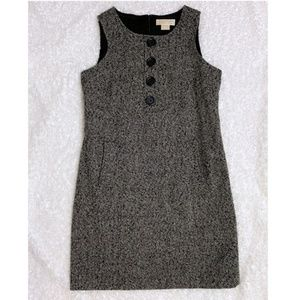 Michael Kors tweed shift dress 10